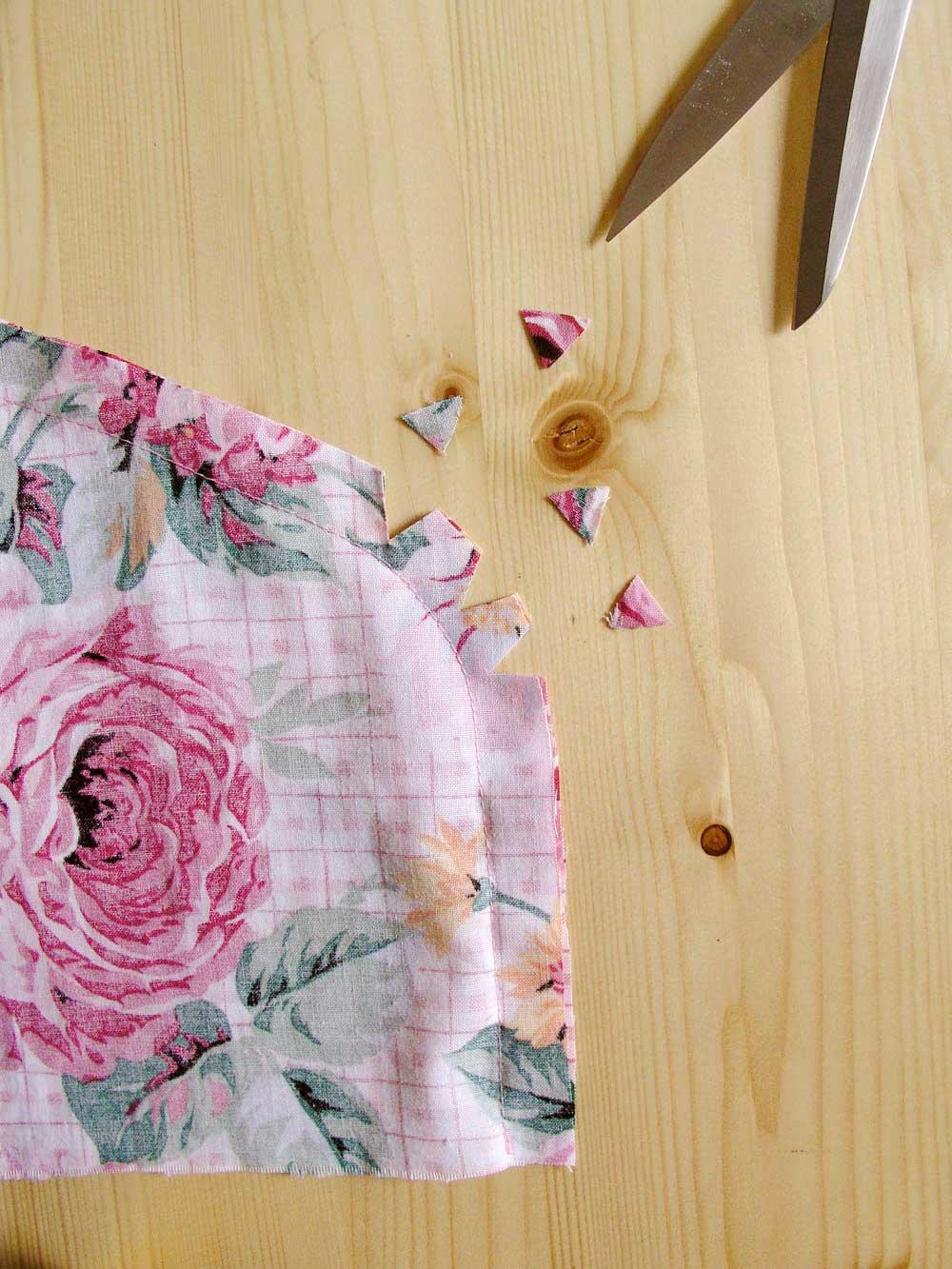 Eliminar el volumen del margen de costura