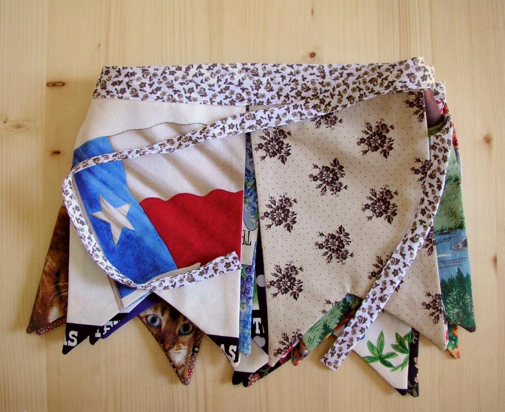 Banderola Texas Style planchada