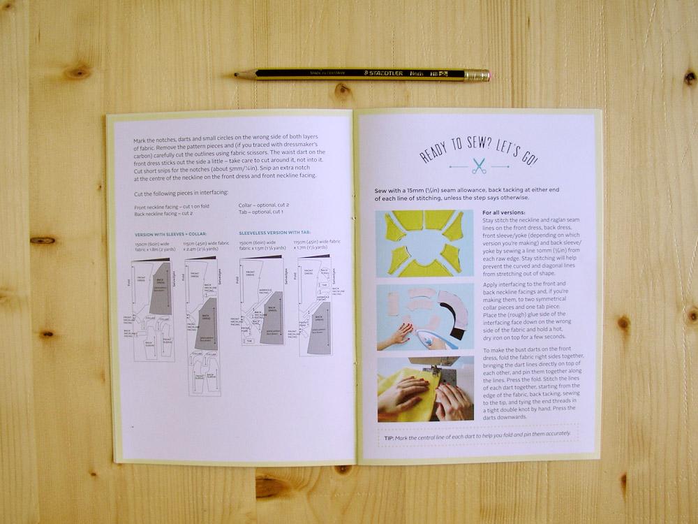 Libro instrucciones modelo Françoise