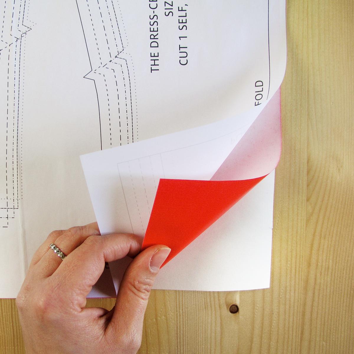 Cómo calcar un patrón | Betsy Costura