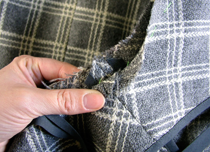 Rebajar márgenes de las costuras