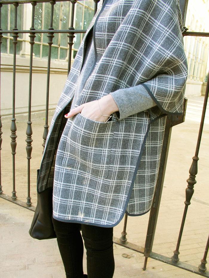 Bolsillos Capa Christine de Betsy Costura