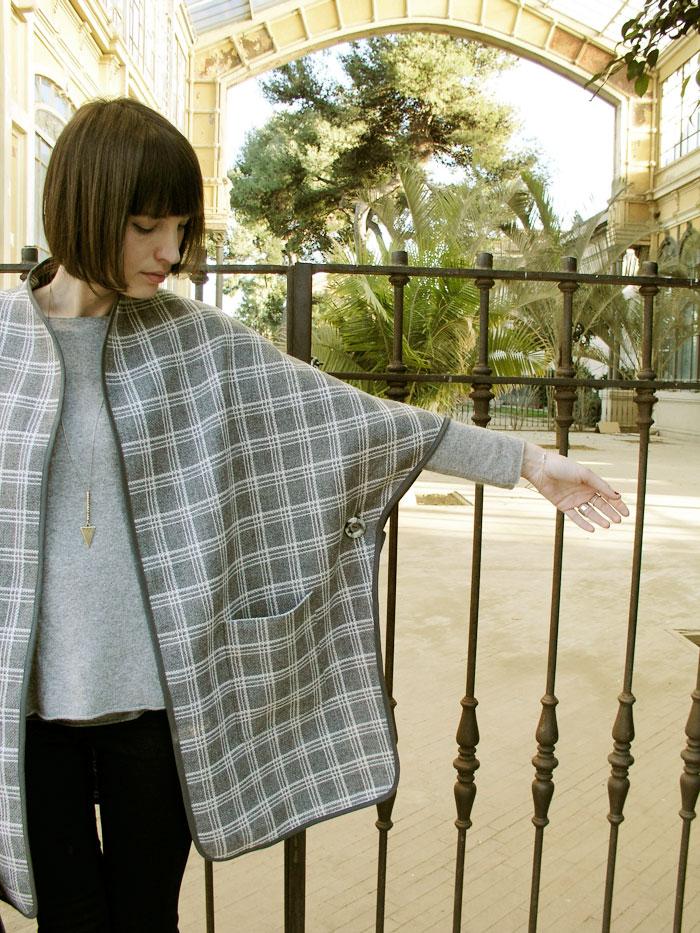 Manga Kimono Capa Christine de Betsy Costura
