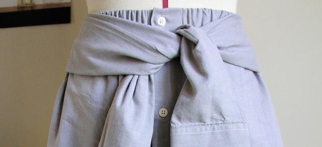 De camisa a falda