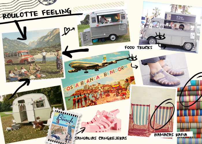 Moodboard Roulotte Feeling | Betsy Costura