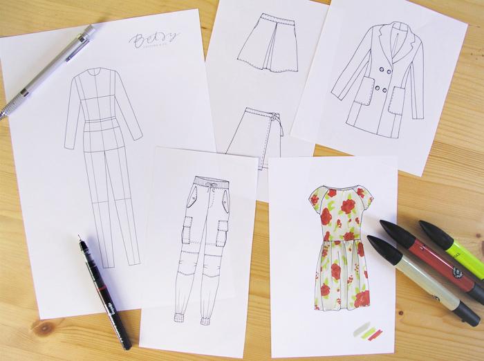Dibuja tu moda | Betsy