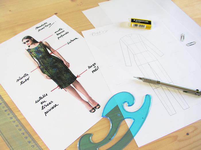 Siluetas y Lápiz |Dibuja tu moda con Betsy