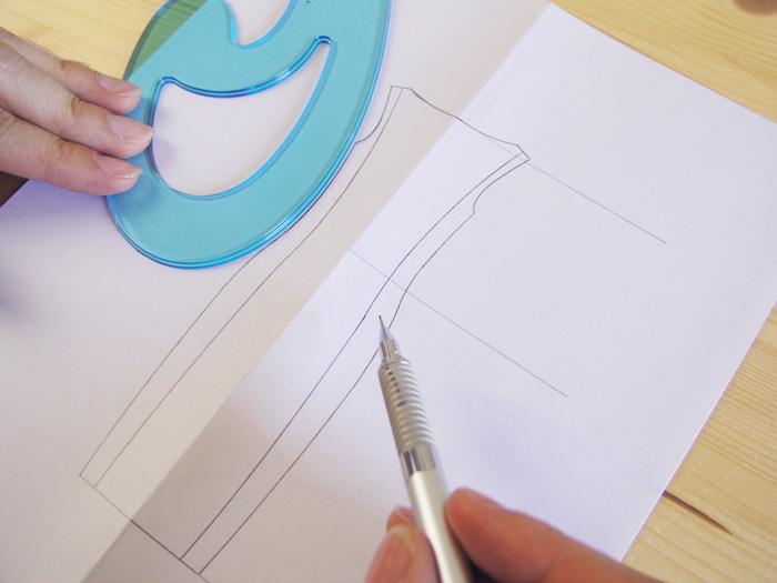 Repasar con las curvas francesas|Dibuja tu moda con Betsy
