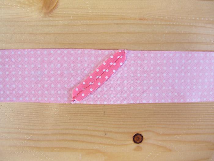 Abrir los márgenes de costura de las tiras al bies | Betsy Costura