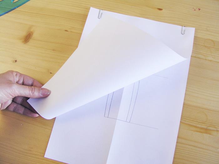 Colocar papel encima del delantero|Dibuja tu moda con Betsy