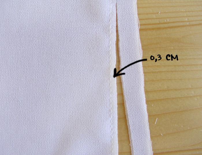 Cortar márgenes de costura | Betsy Costura
