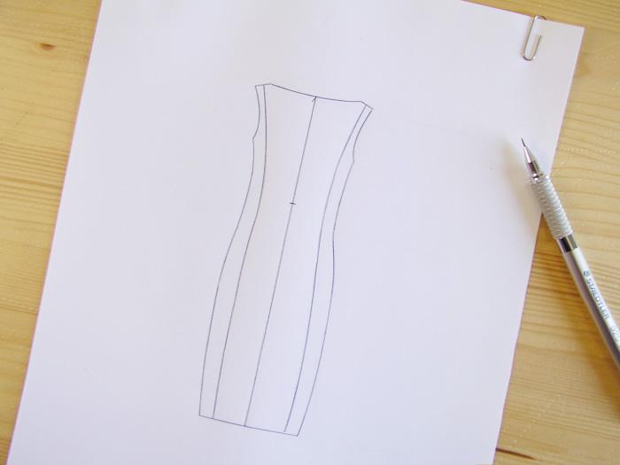 Repasar los trazos |Dibuja tu moda con Betsy