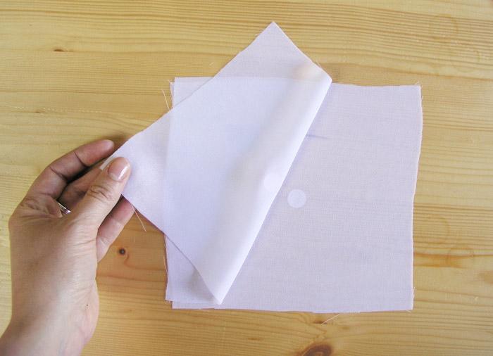 Colocar revés con revés los tejidos | Betsy Costura