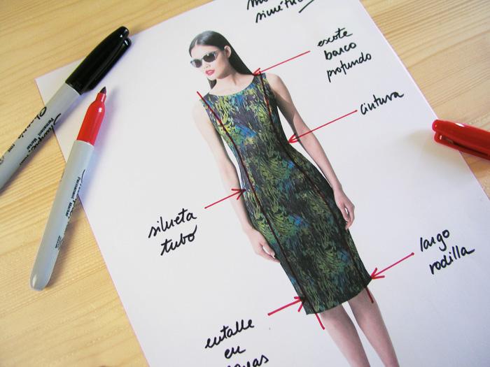 Análisis de vestido |Dibuja tu moda con Betsy