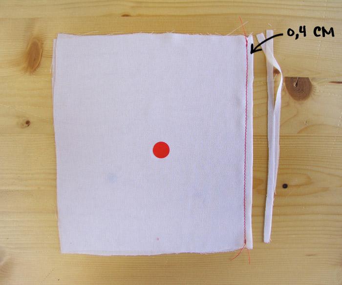 Cortar márgenes de costra para hacer costura francesa | Betsy Costura