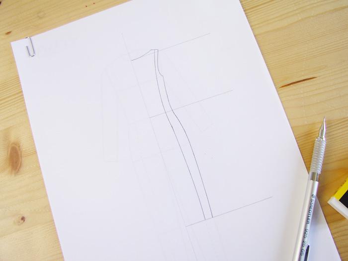 Dibujar la mitad del vestido|Dibuja tu moda con Betsy