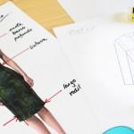 """<span class=""""page-header-pre-title"""">Dibuja tu moda: Día 2</span><br />Siluetas y lápiz"""