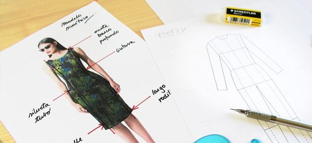 Dibuja tu moda: Día 2Siluetas y lápiz