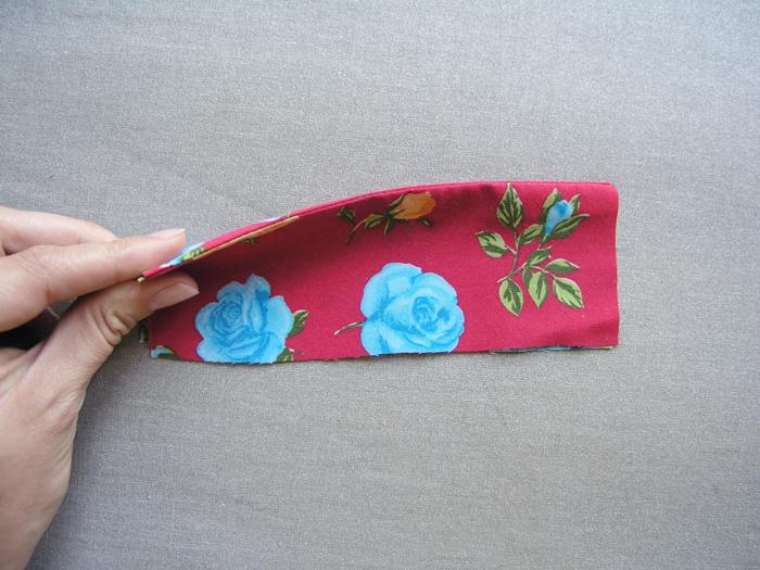 Canto doblado con márgenes de costura doblados| Betsy Costura