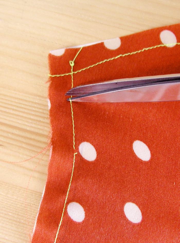 Cortar pespuntes alternativos para liberar margen  Betsy Costura