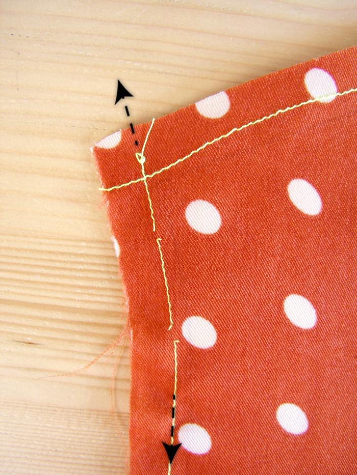 Estirar tejido hasta encajar en la plantilla |Betsy Costura