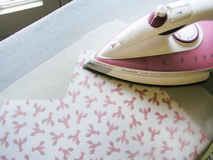 Paño de organza de seda para planchar | Betsy Costura