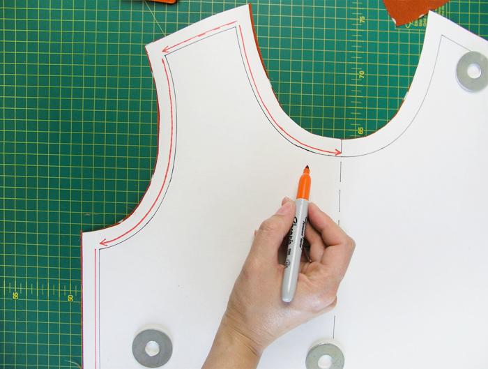 Dibujar pespuntes estabilizadores  Betsy Costura