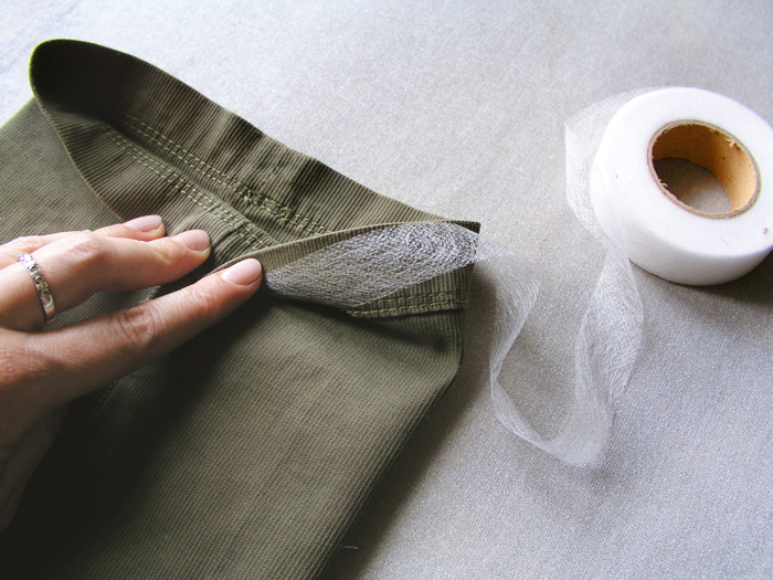 Cinta fliselina de doble cara | Betsy Costura