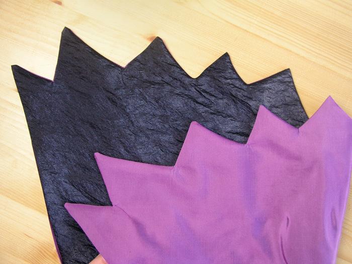 Planchar cuello de la capa de Halloween | Betsy Costura