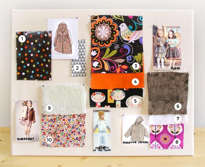 Moodboard inspiración young boho style  | Betsy Costura