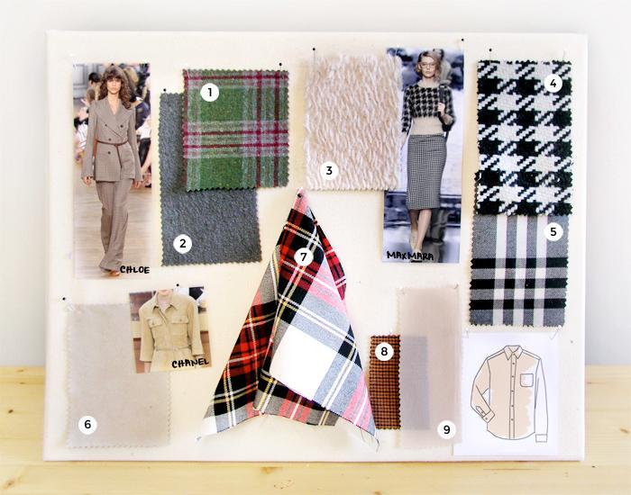 Moodboard inspiración office style  | Betsy Costura