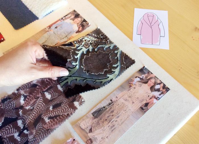Apreciación de los brillos y transparencias de las muestras | Betsy Costura