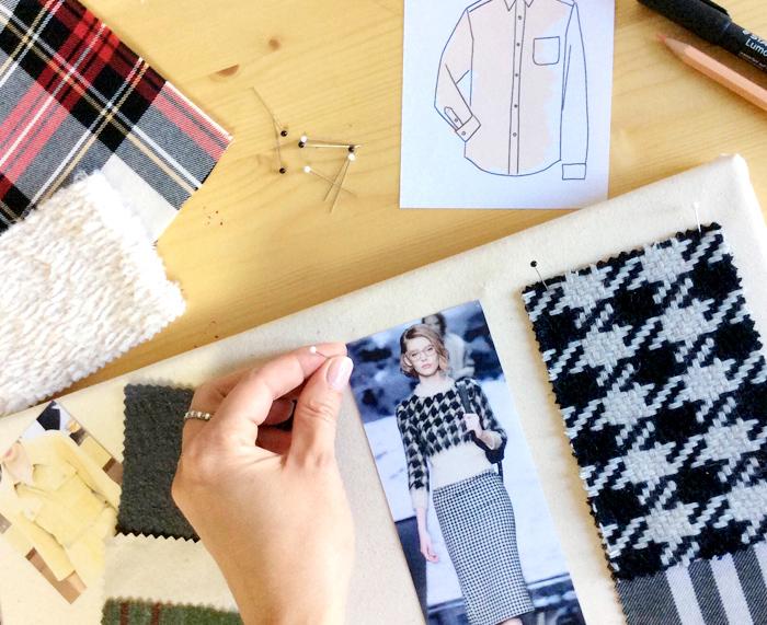 Moodboard inspiración de tejidos  | Betsy Costura