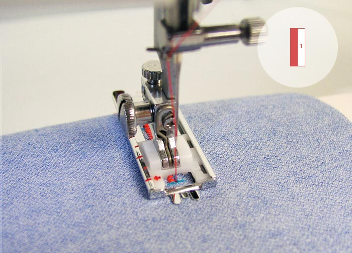 ojal ojales máquina de coser pasos pie ojales