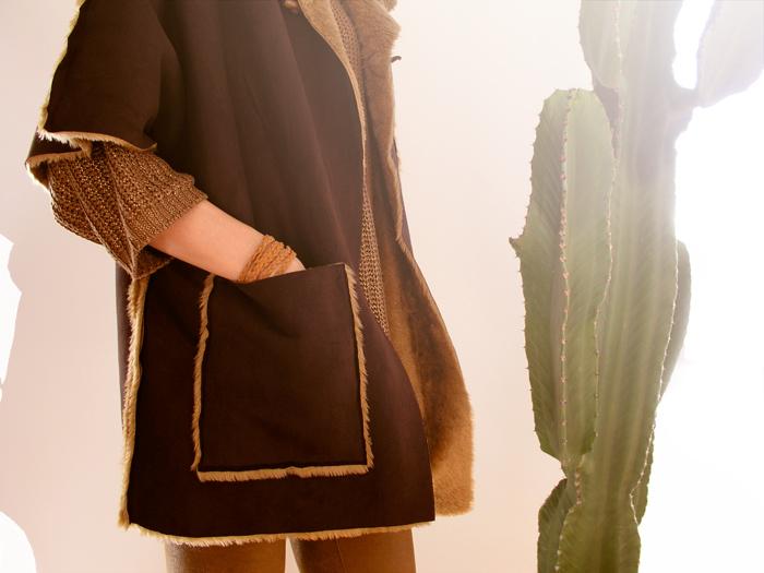 capa, cose conmigo, sewalong, cose con betsy, navajo, christine, capucha, pelicheta, tejido, peluchoso, bolsillo, indio, cactus, costura, sewing, patrón