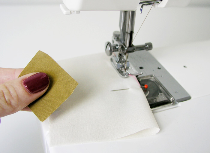 Utilizar un cuadrado al bies si la máquina tiene problemas | Betsy Costura