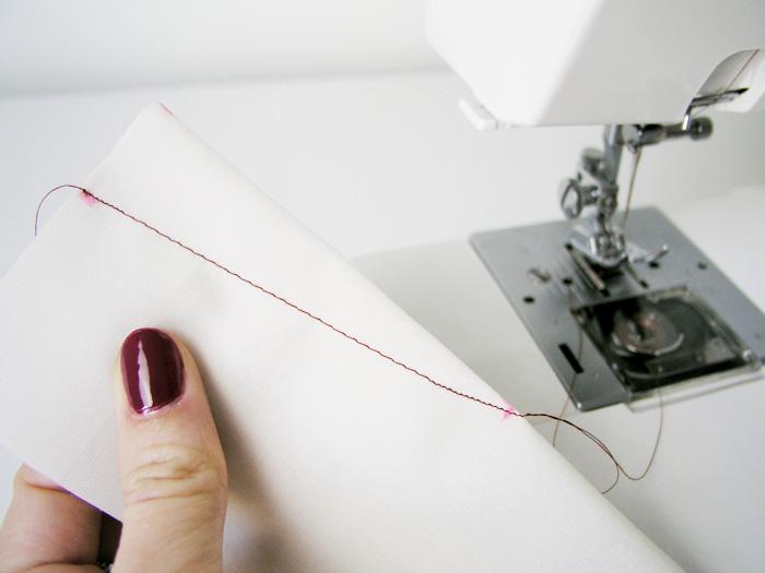 Coser la pinza utilizando diferentes longitudes de pespunte | Betsy Costura
