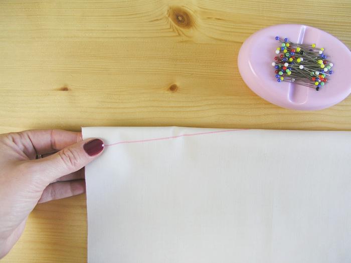 Doblar la pinza por la mitad | Betsy Costura