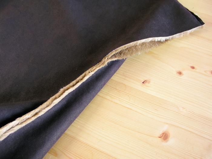 Costura lateral de la Capa Navajo | Betsy Costura