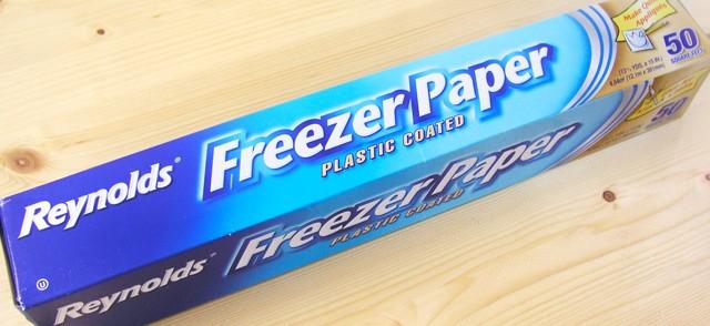 El maravilloso Freezer Paper