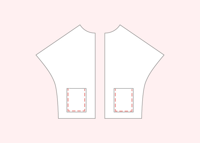 Coser los bolsillos a los delanteros de la Capa Navajo | Betsy Costura