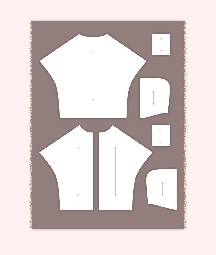 Colocación de los patrones de la Capa Navajo | Betsy Costura