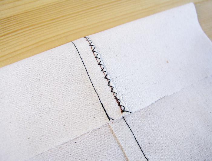 Costura plana o tejana versión rápida | Betsy Costura