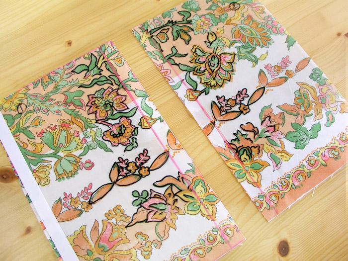 Cortar el tejido con el papel de acetato como orientación | Betsy Costura
