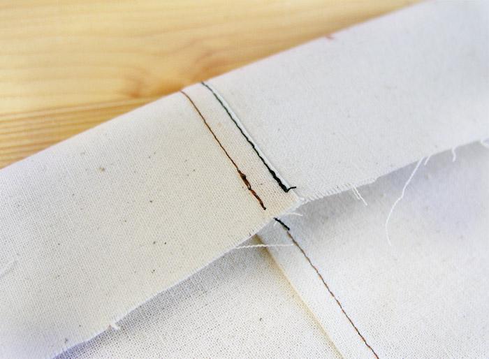 Costura plana o tejana   Betsy Costura