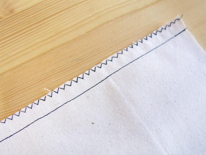 Sobrehilar los márgenes de costura juntos | Betsy Costura
