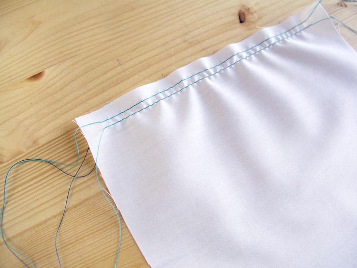 Hacer dos líneas de pespuntes con el largo de puntada al máximo | Betsy Costura