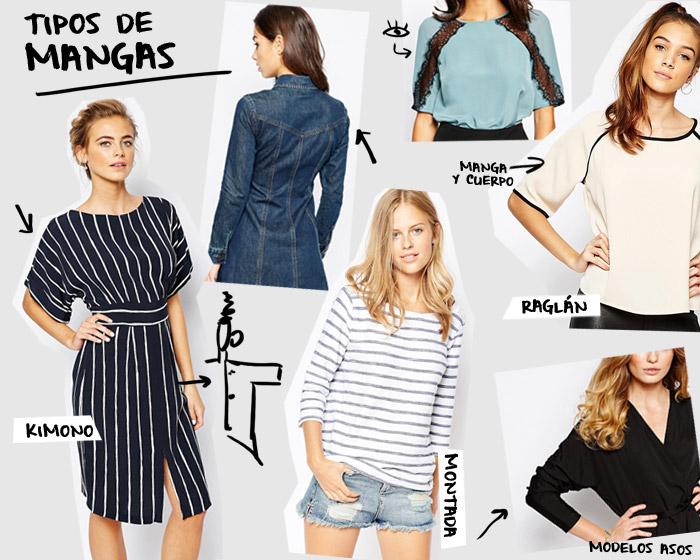 Tipos de mangas | Betsy Costura