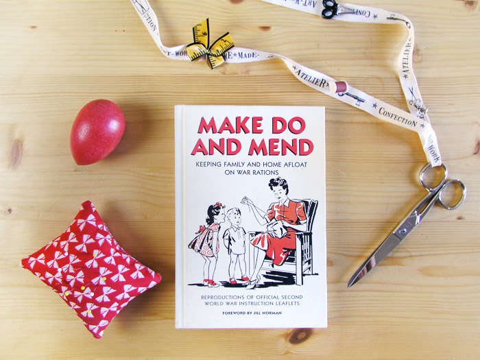 Make do and mend book | Betsy Costura
