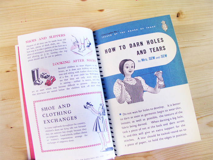 Make do and mend book   Betsy Costura